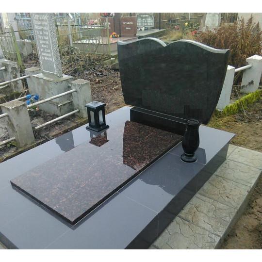 Горизонтальный памятник на могилу в виде Книги ts0508