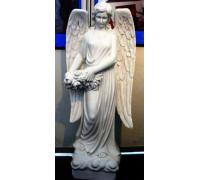 Статуя Ангела-девушки с венком в руках ts0424