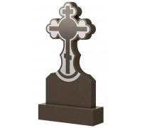 Вертикальный памятник с Крестом на могилу ts0472