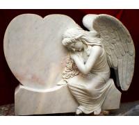 Памятник Сердце Ангела ts0435