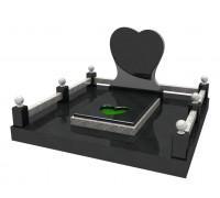 Мемориальный комплекс Сердце в 3D формате ts0530