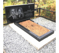 Памятник двойной горизонтальный ts0270