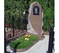 Памятник резной с плащаницей ts0087