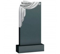 Памятник с плащаницей и тюльпанами ts0480