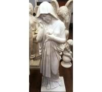 Скульптура скорбящей матери на могилу ts0457