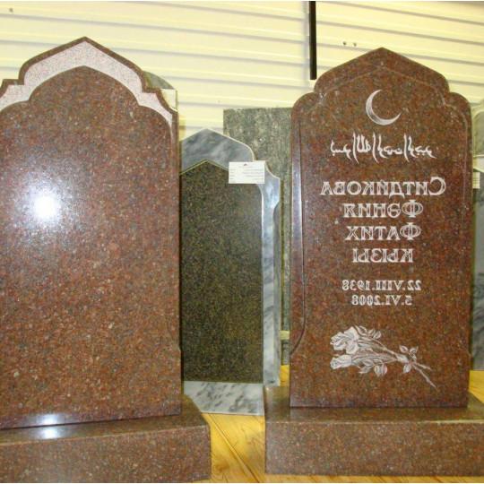 Памятник вертикальный мусульманский ts0045