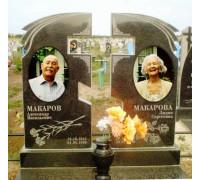 Памятник современный двойной на могилу ts0181