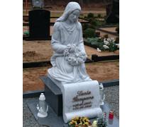 Памятник скульптура скорбящей матери ts0161