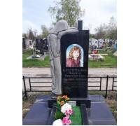 Памятник на могилу со скорбящей матерью ts0354