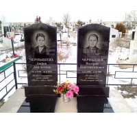 Семейное стандартное надгробие на могилу ts0553