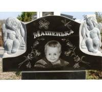 Памятник младенцу с ангелами ts0336