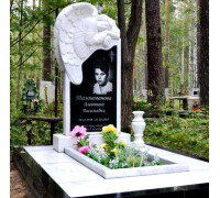 Памятник вертикальный с Ангелом ts0133