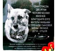 Памятник для служебной собаки ts0125