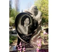 Памятник Сердце скорбящей матери ts0353