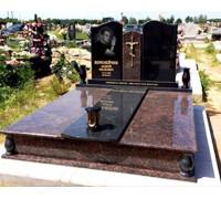 Памятник современный двойной на могилу ts0381