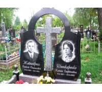 Двойной памятник Арка и Крест на могилу