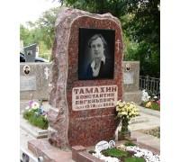 Памятник из красного гранита Скала ts0359