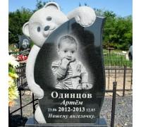 Памятник ребенку с мишкой ts0096