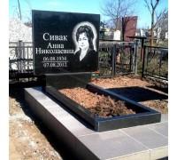 Большой стандартный надгробный памятник из гранита ts0560