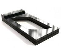 Прямоугольная открытая надгробная плита ts0598