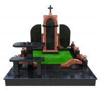 Православный семейный мемориальный комплекс в 3D формате ts0513