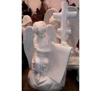 Памятник Ангел со свитком и Крестом ts0450