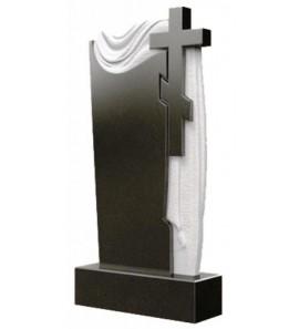 Памятник вертикальный резной с плащаницей ts0328