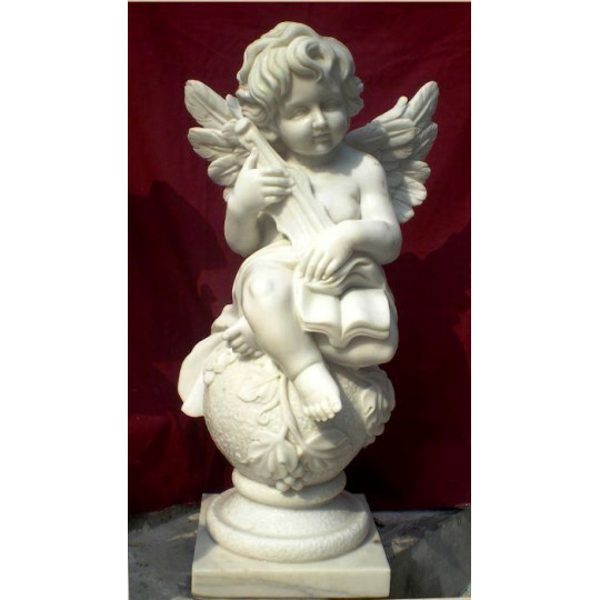 Скульптура ангелочка с книгой ts0411