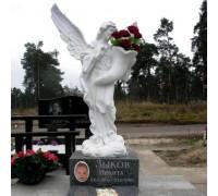 Памятник со скульптурой для ребенка ts0097