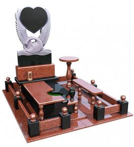 Мемориальный комплекс Лебедь и Сердце в 3D формате ts0517
