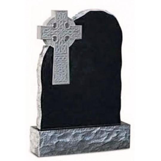 Памятник из гранита Скала с Крестом ts0358