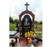 Фигурная Арка с Крестом на могилу ts0578