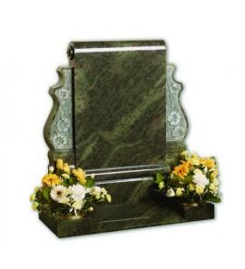 Памятники из зеленого гранита на могилу
