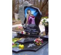 Памятник со Скорбящей на могилу девушки